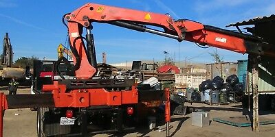 Knuckle Boom Crane 1992 Palfinger 14500 Fully Functional-Remote control included