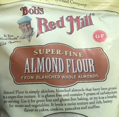 Bob's Red Mill  ALMOND FLOUR SUPER  FINE 3 LB (Free Exp Shipping)