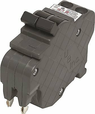 Connecticut Electric Ubif0220 Federal Compatible Two Pole Thin Breaker 20 Amps