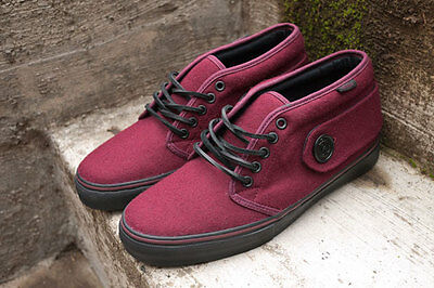 a2fcfb52b5 Vans Vault Peacoat Chukka Size 9.5 Mens WINE COLOR WAY SUPER RARE SUPREME