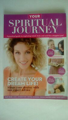YOUR SPIRITUAL JOURNEY Magzine/Book Psychic Masterclass Crystal Guidance