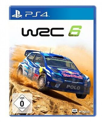 PS4 / Sony Playstation 4 game - WRC 6 (boxed)