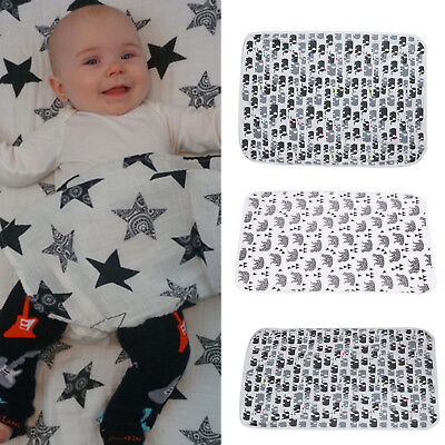 Soft Muslin Infant Newborn Baby Blanket Bedding Wrap Swaddle Bath Towel Blanket