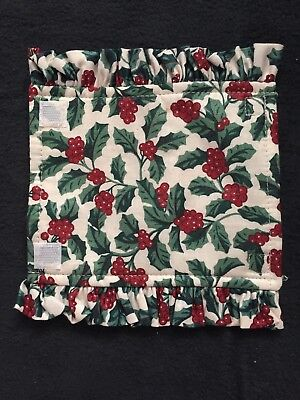 Longaberger Fabric Handle Gripper Traditional Holly
