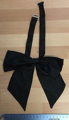 """Women's Bow Tie Black Pussy Bow Drag Up To 16"""""""