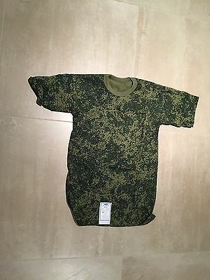 Camoflage Digital T Shirt, New, Current Russian, Large