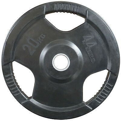 20kg Olympic Weight Plate // Crossfit Rubber Pro Gym Weights Fitness Lifting