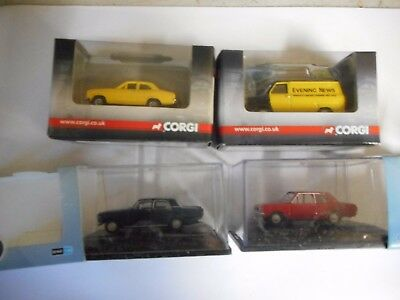 Base Toys Oo 4X Older  British Cars 2