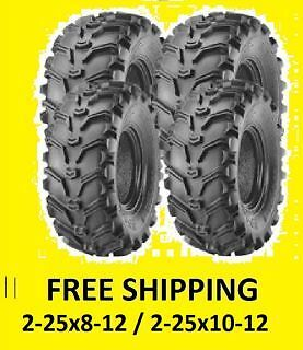 Mayhem Front Tire 25x8x12 For 2003 Yamaha YFM400 Big Bear 4x4 ATV~ITP 6P0030