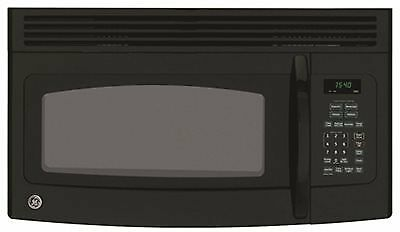 Ge® 1.5 Cu.ft. Over-The-Range Microwave Oven, Black, 950 W