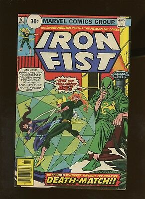 Iron Fist 6 VG/FN 5.0 * 1 Book Lot * ¢30 Price Variant! 1st Jeryn Hogarth!
