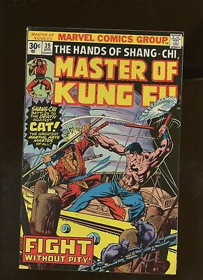 Master of Kung-Fu 39 FN 5.5 * 1 Book Lot * ¢30 Price Variant! Shang-Chi!