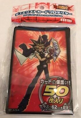 (50)Yu-Gi-Oh Small Size Yugi Muto Card Sleeves 50 pieces 62X89 MM