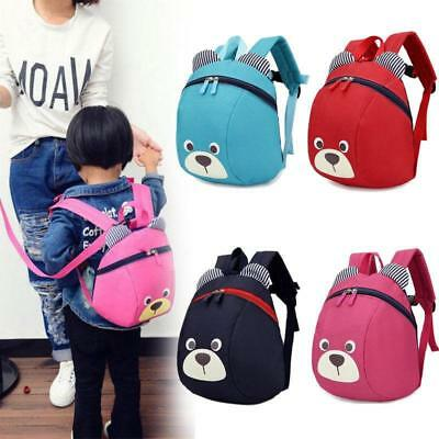 Baby Kid Toddler Keeper Walking Safety Harness Backpack Leash Strap Bag Cute LD