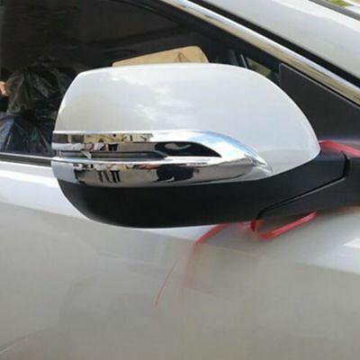 Mirror Chrome Body ABS Anti-rub Molding Cover Trim For Honda CRV CR-V 2017 2018