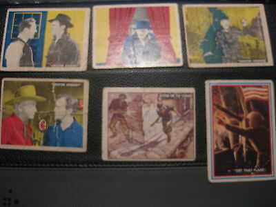 Lot of Vintage Hopalong Cassidy trading cards 1950 topps + freedoms war +