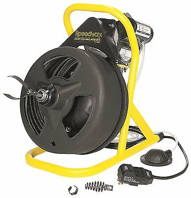 Cobra Products St-440 Speedway Cable Drum Drain Machine 3/8  In. X 100 Ft.