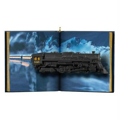 Hallmark Believe in Magic Polar Express Train Ornament New Box Slightly Damaged