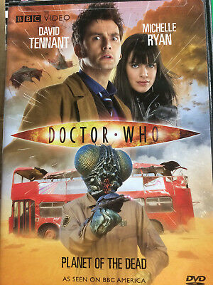Doctor Who: Planet of the Dead David Tennant BBC  (DVD, 2009)