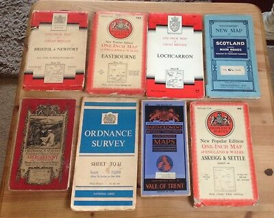 Ordnance Survey Maps. ( 22 ) Job Lot