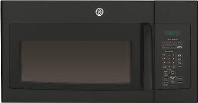 Ge® 1.7 Cu. Ft. Over-The-Range Microwave Oven, Black, 1000 Watts