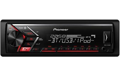 Pioneer MVH-S300BT Car Stereo Bluetooth Connection USB Music Front Panel