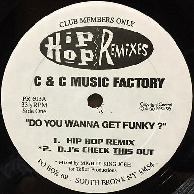 C + C Music Factory / Do You Wanna Get Funky ? / Don't Take It Personal