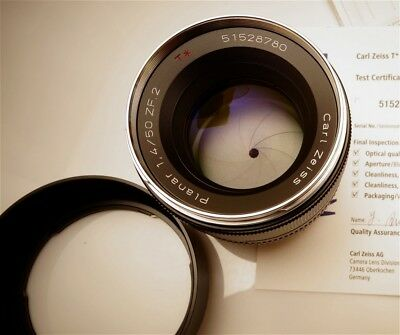 ZEISS 50mm f/1.4 Lens for Nikon zf.2 - Open Box New; Flawless; USA Seller!!
