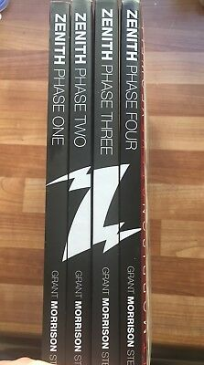 Zenith: Phase 1, 2, 3, 4 Complete Collection By Grant Morrison And Steve Yeowell