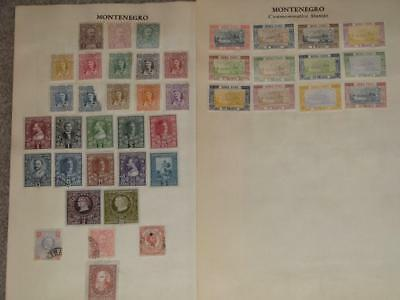 Early Montenenegro Used and Unused, Lot M4