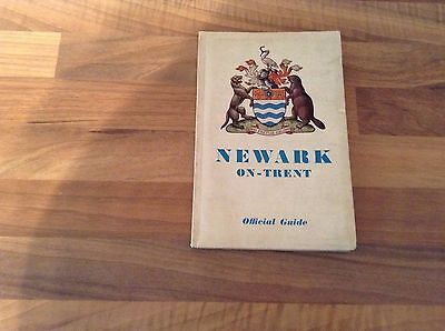 Newark On Trent Vintage Town Guide By R V Appleby