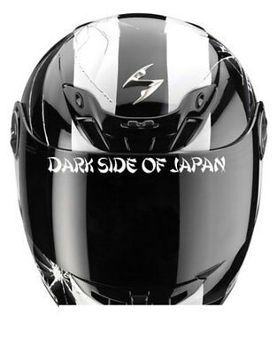 Dark Side Of Japan Helmet Sticker Visor Yamaha Kawasaki Suzuki Honda