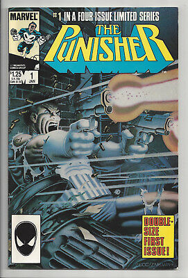 THE PUNISHER #1 1ST SERIES (LIMITED SERIES) Marvel NETFIX 1986 F/VF TO VF-