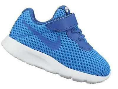 5dee654abbc4 BOY S GIRL S TODDLER NIKE TANJUN AC Blue Athletic Sneakers Shoes NEW ...