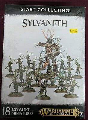 Warhammer AOS Start Collecting: Sylvaneth - BNIB - Free White Dwarf