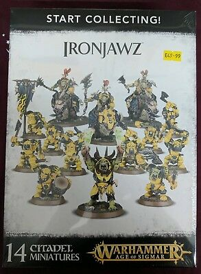 Warhammer AOS Start Collecting: Ironjawz - BNIB - Free White Dwarf