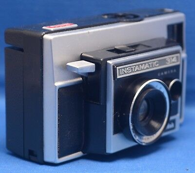 Kodak Instamatic X 25 Vintage 126 Film Camera Made In Usa Very Clean