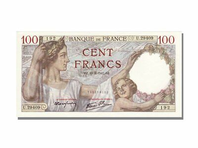 [#11882] France, 100 Francs, 100 F 1939-1942 ''Sully'', 1942, KM #94