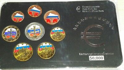 Slowakei Euro KMS 2009 in Farbe Coinset KMS -Bankfrisch  1cent-2 Euro-
