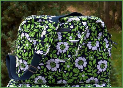 NWT Vera Bradley Weekender in LUCKY YOU - CARRY-ON COMPLIANT - Gym / Travel Bag