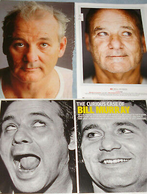 BILL MURRAY b/w Photo 8x10 + 119x Clippings 1984-now