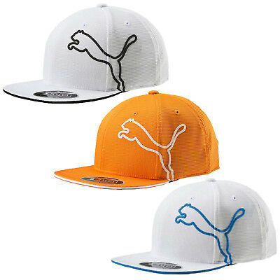 0fd4099375e Puma Golf Youth Monoline Snapback Cap Hat 053064 - Flat Bill - OSFA