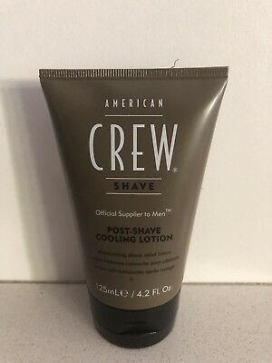 American Crew Shave Post-Shave Cooling Lotion, 125ml/4.2 Fl Oz.