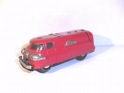 Schuco Patent Varianto Express Nr. 3114 - rot - made in Western Germany