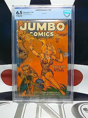 JUMBO COMICS #155 (1952) CBCS 6.5 Sheena Bondage Panels Parade of Pleasure