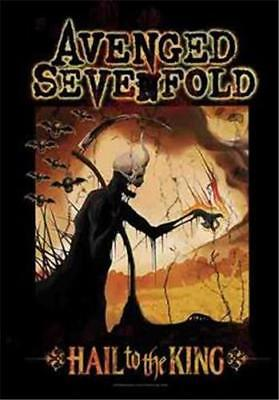 """AVENGED SEVENFOLD Rock flag/ Tapestry/ Fabric Poster A7X """"Reaper""""   NEW"""