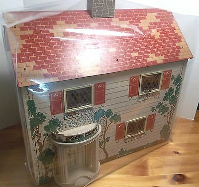 DOLL HOUSE Clear Vinyl dust cover Custom size Fits LARGER size house