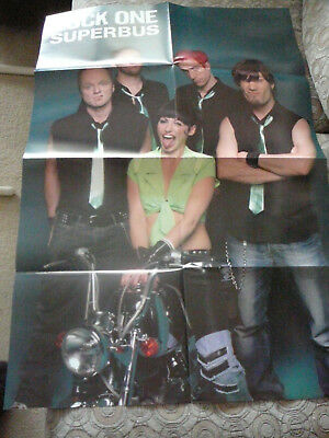 SUPERBUS & GOOD CHARLOTTE PIN UP POSTER PHOTO AFFICHE 22 x 32