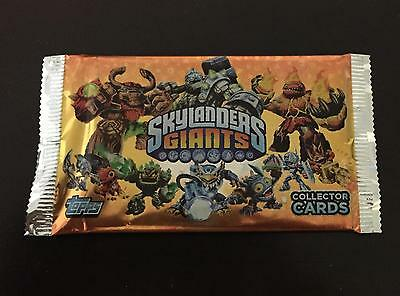 Skylanders Giants Trading Cards Sealed Pack Topps Europe 2012