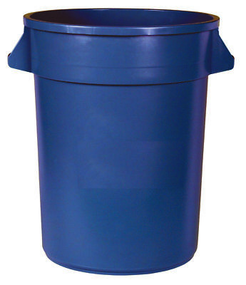 APPEAL® TRASH CAN WITH HANDLES, GRAY, 44 GALLONS Containers molded with highest